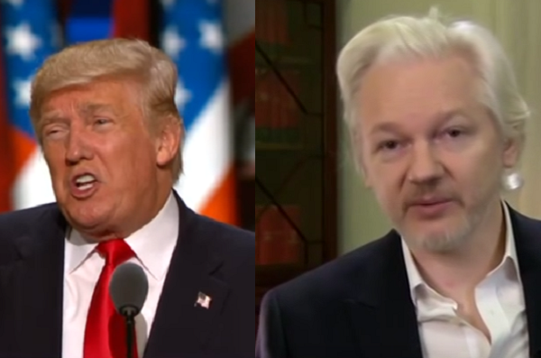 Hah! Julian Assange Trolls CNN Over Trump-Manafort Wiretapping Story in Viral Tweet