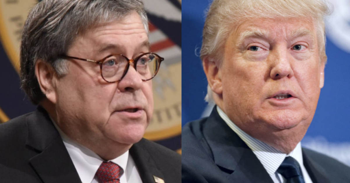 IT'S HAPPENING… BREAKING: President Trump Meets with AG Bill Barr in Oval Office – Then Delays Departure and Calls in Top Aides and Communication Team