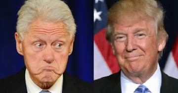 What the Media Won't Tell You: Bill Clinton Charged of 11 Felonies and Impeachable Offenses – Trump Accused of ZERO Felonies and 2 Non-Crimes