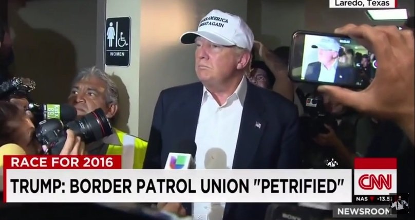 "National Border Patrol Union Endorses TRUMP – ""You Can Judge a Man By His Opponents"""