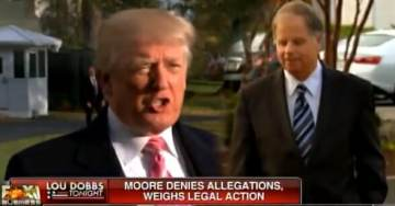 "President Trump: I Endorsed Luther Strange because Moore ""Not Able Not Win General Election"" – ""Deck Was Stacked Against Him"""