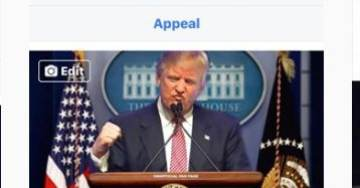 "CRIMINAL Facebook Deletes ""Donald Trump is Our President"" Facebook Fan Page with 3,276,000 Fans!"