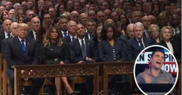 SAD. Never-Trumper Ben Shapiro Can't Help Himself – Trashes Trump at George H. Bush's Funeral