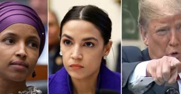 WOW! President Trump Doubles Down on America-Hating Jew-Hating Democrats Ilhan Omar, Rashida Tlaib, and AOC!
