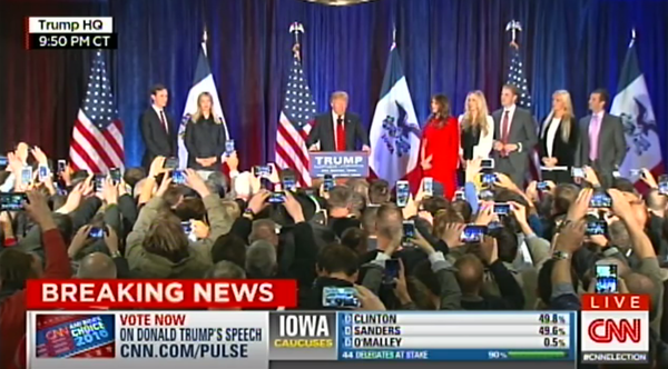trump iowa speech