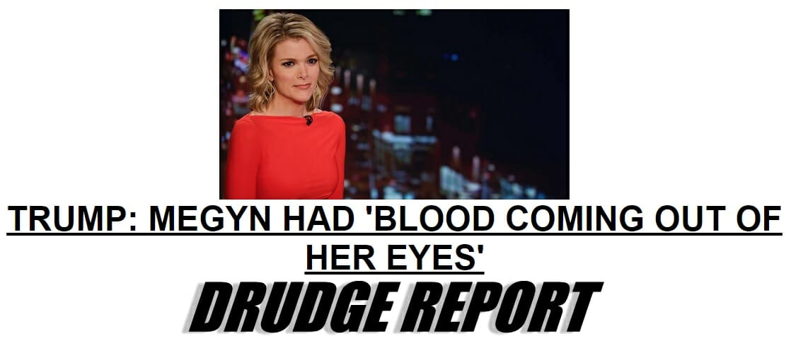 trump kelly blood drudge
