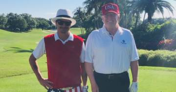 Trump Celebrates End of Mueller Witch Hunt — Goes Golfing with Kid Rock