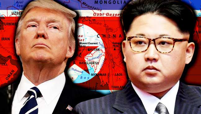 "North Korea reportedly ""Willing"" to Discuss Getting Rid of Nukes - May Meet Trump in Mongolia (VIDEO)"
