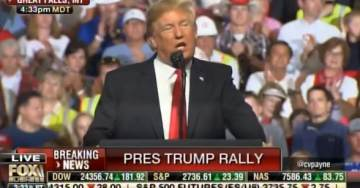 TRUMP ON FIRE! President Paints Maxine Waters as New Leader of Democrat Party in Great Falls Speech (VIDEO)