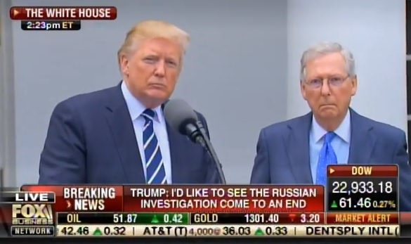 BOOM! Trump UNLOADS on Mitch McConnell and Never-Trump Wall Street Journal in Latest Press Release