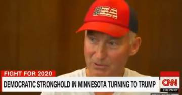VIDEO: CNN's Savidge Goes to Democratic Stronghold in Minnesota Finds Everyone Is Voting for Trump