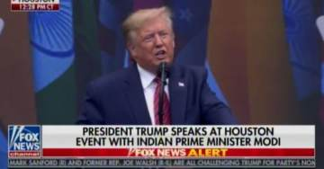 "HOUSTON STADIUM ERUPTS After President Trump Tells Indian-American Audience: ""India Has Never Had a Better Friend Than Trump"" (VIDEO)"