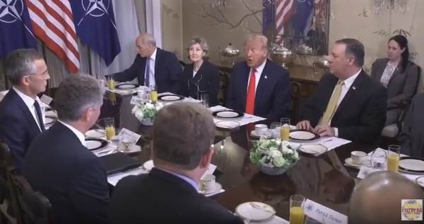 "photo image Watch: Trump Blasts NATO Allies in Tense Exchange, Says: ""Germany Is Totally Controlled by Russia"" (VIDEO)"
