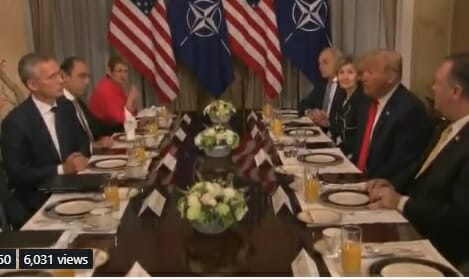 "photo image NATO Chief Credits Trump with Increased Member Funding – Trump Points to Media, ""They Won't Report This"" (VIDEO)"