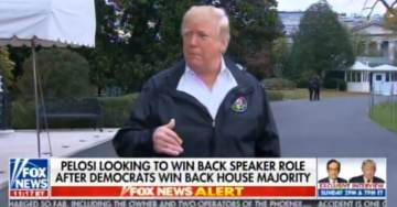 Trump Endorses Pelosi: I Will Help Nancy Pelosi if She Needs Some Votes.  I will Perform a Wonderful Service For Her (VIDEO)