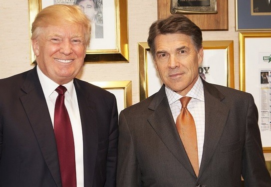 trump perry