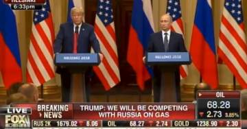President Trump at Putin Press Conference: I Beat Hillary Clinton Easily… Democrats Lost by a Lot (VIDEO)