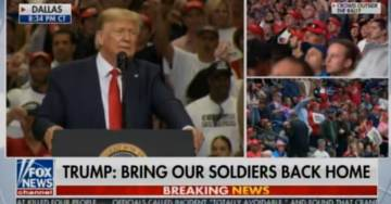 """""""USA!… USA!…"""" – President Trump Gets LOUDEST APPLAUSE at Rally After Announcing Bringing the US Forces Home (VIDEO)"""