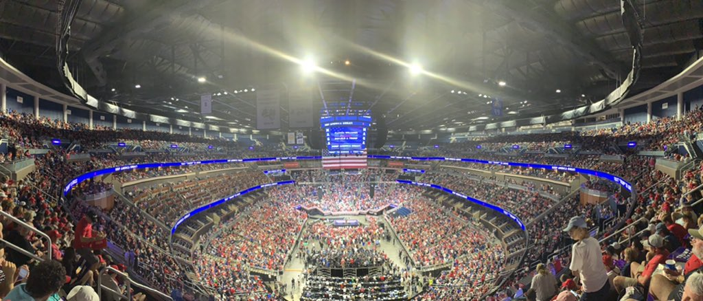 'Biggest Rally Signup of All Time by 10X' - More Than ONE MILLION People Sign Up For Trump's MAGA Rally in Tulsa, Oklahoma --UPDATED