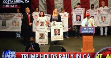 Sadly, Donald Trump Is Only Candidate to Sign Letter for Victims of Illegal Alien Crime