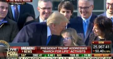 PRESIDENT TRUMP is First Sitting US President to Address The March for Life in Washington DC (Video)