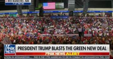 AMAZING! Another MASSIVE RALLY — MILE-LONG Line of Traffic Formed AT 6:00 AM to See President Trump in Rio Rancho, New Mexico