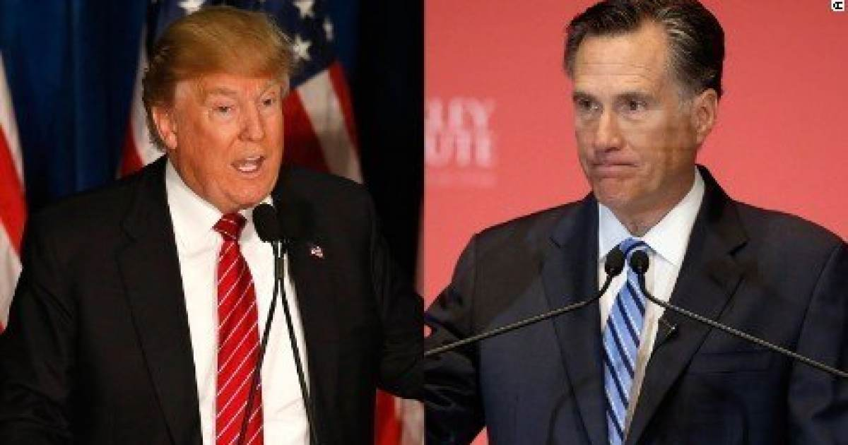"""FIGURES. RINO Romney Says Trump """"Fell Far Short"""" of His Duty to Unite Americans When He Called Out Anti-American Congresswomen"""