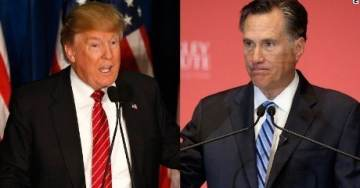 "FIGURES. RINO Romney Says Trump ""Fell Far Short"" of His Duty to Unite Americans When He Called Out Anti-American Congresswomen"