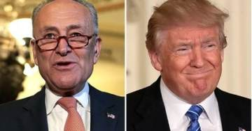 Schumer Urges Intelligence Community Leaders to 'Stage an Intervention' With President Trump
