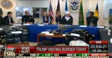 PRESIDENT TRUMP Meets With Reggie Singh at Texas Border — Reggie's Brother Cpl. Ronil Singh Was Murdered by Illegal Alien