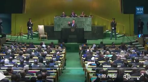 Netanyahu on Trump UN Speech: In More than 30 Years at UN, Have Not Heard a Speech so Brave and Sharp