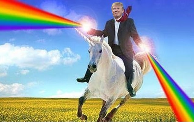 trump-unicorn-rider