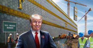 Paul Ryan's $1.3 Trillion Omnibus Bans Trump From Building Border Wall With Prototypes He Inspected in San Diego Last Week
