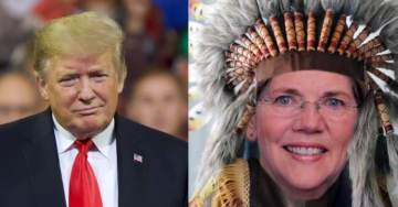"""President Trump Savages """"Pocahontas, Sometimes referred to as Elizabeth Warren"""" Following DNA Results"""