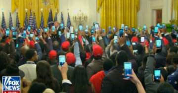 President Trump Greets Young Black Leaders in White House – Touts Record-Breaking Economic Results for African-Americans (VIDEO)