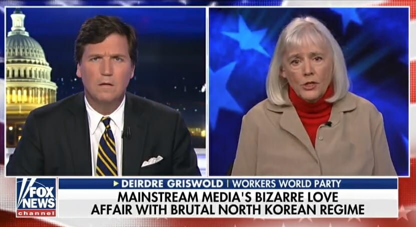 photo image Tucker Carlson DESTROYS Unhinged Communist in Insane Debate on North Korean Police State (VIDEO)