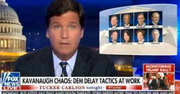 Tucker Carlson: If Democrats Delay Kavanaugh Vote for Another Week — His Confirmation Is Over Per Senate Rules (VIDEO)