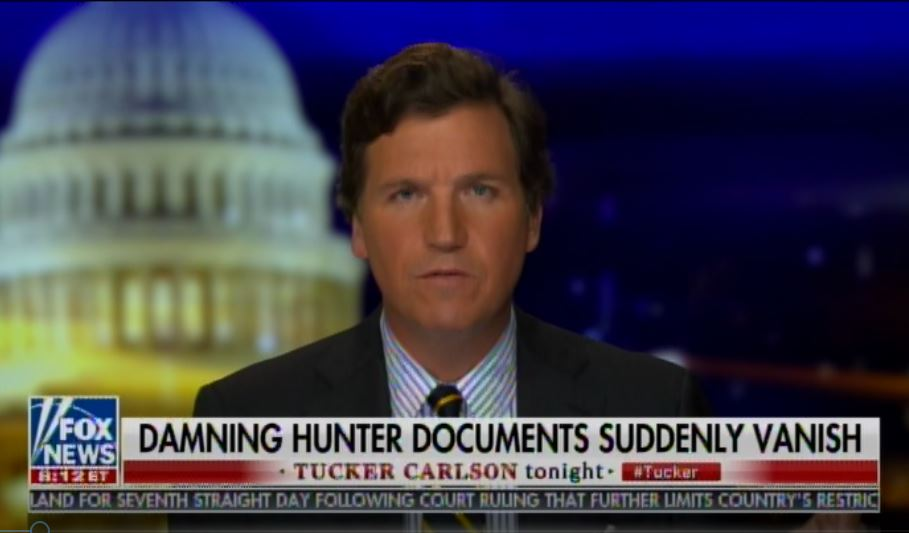 BREAKING: Tucker Carlson Tells Viewers a Package Sent By Producer from NY to LA Was Tampered with and the Contents Went Missing (VIDEO)