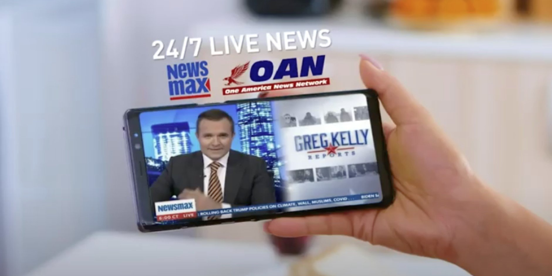 How To Start Watching OAN And NewsMax On Any Device