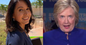 WATCH: Tulsi Gabbard Responds to Hillary Clinton on Tucker Carlson: 'I Stand Against Everything That She Represents'