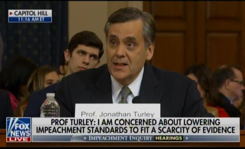 """""""The Current Legal Case for Impeachment Is Not Just Woefully Inadequate – But Dangerous"""" – Prof. Jonathan Turley — a Democrat — Destroys Impeachment Hearing with Historic Speech"""