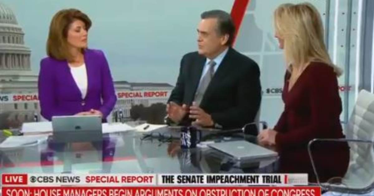 """They Virtually Accused President of Being Russian Asset, of Having KGB Address"" - Jonathan Turley Breaks the News to CBS Hacks that Democrats Just Lost Their Case (VIDEO)"