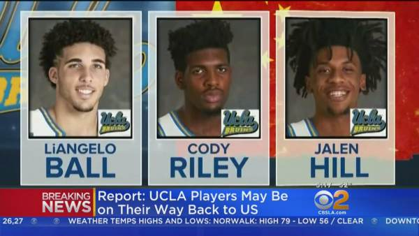 photo image Leadership: China Releases Detained UCLA Basketball Players After Trump Intervenes (Video)