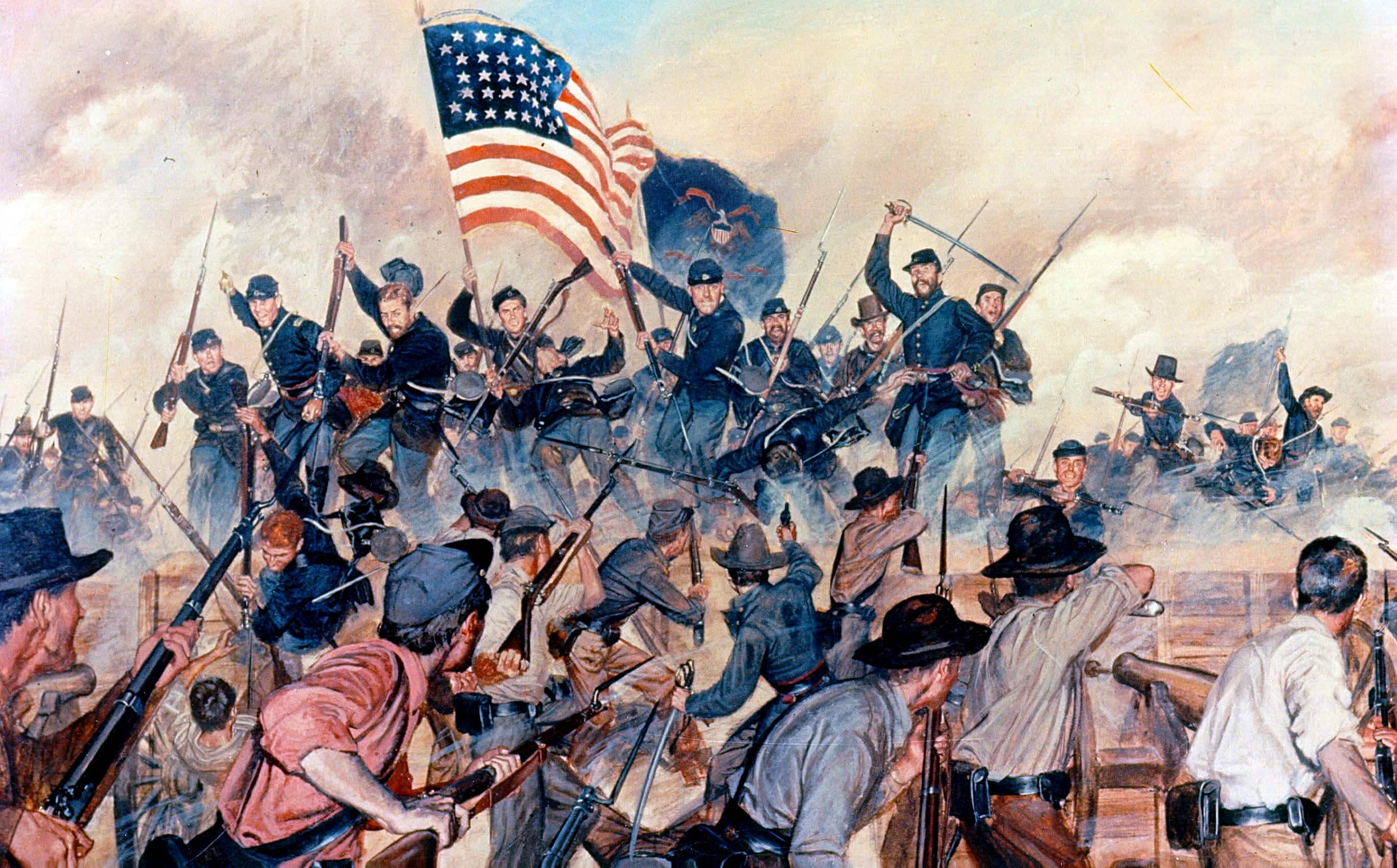 a discussion on the results of the souths fight in the american civil war American civil war forums why did north and south fight discussion in 'civil war history yes, as a result of their teachings.