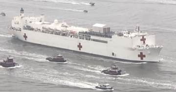 BROKEN MODELS: The CDC Doctors Screwed Up Bigly! USNS Comfort in NY Harbor Sits Idle with 3 Patients — USNS Mercy in LA has Only 15 Patients