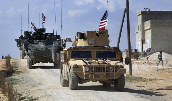 Just Like the Good Old Days: Joe Biden Invades Syria with Convoy of US Troops and Choppers on First Full Day as President