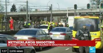 Terror Attack in Utrecht, the Netherlands: One Dead and Several Injured in Tram Shooting