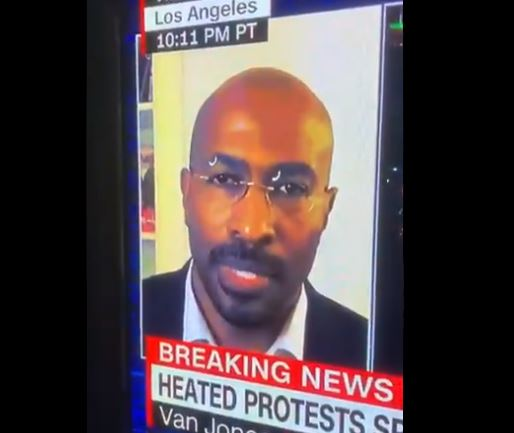 Radical CNN Contributor Van Jones Compares Mass Random Looting, Rioting, Vandalism by Leftist Mob to Boston Tea Party (VIDEO)