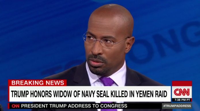 CNN's Van Jones: He Became President of the United States in That Moment. Period.