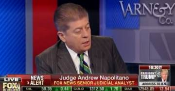 Judge Napolitano: I Can Assure You Donald Trump Caught in Wiretap at Trump Tower (VIDEO)